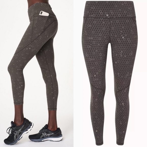 [sweaty betty] power reflective 7/8 leggings